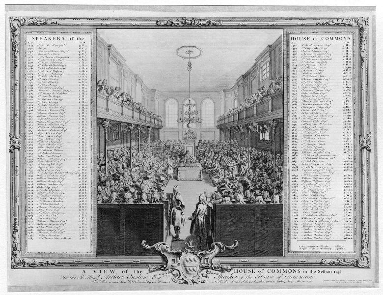 House of Commons 1743