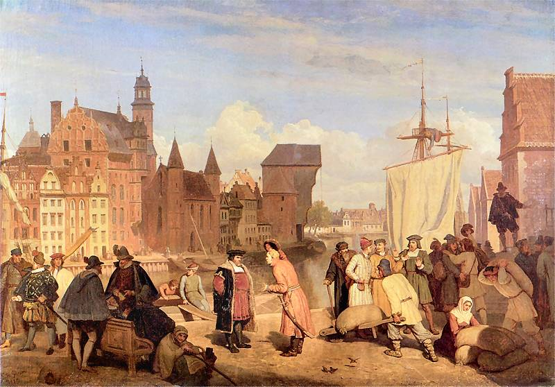 Gdańsk in the 17th century