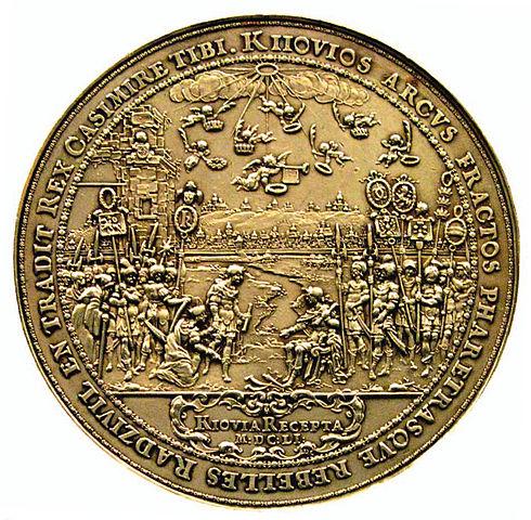 Medal na pamiątkę odbicia Kijowa