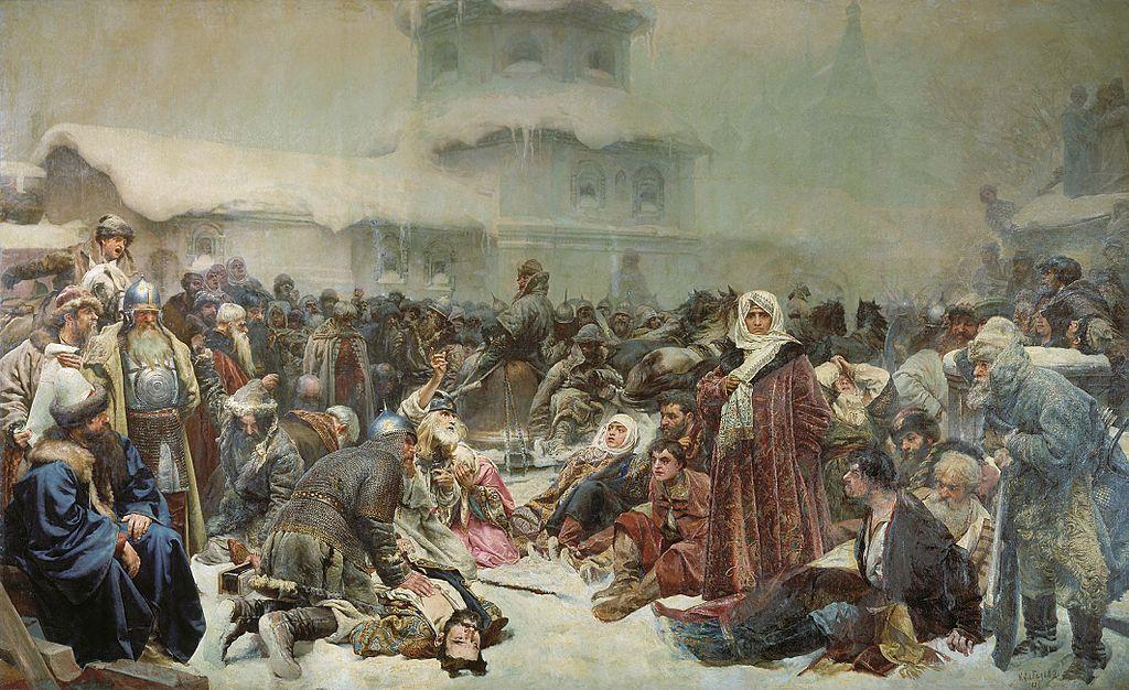 Destruction of Novgorod Veche