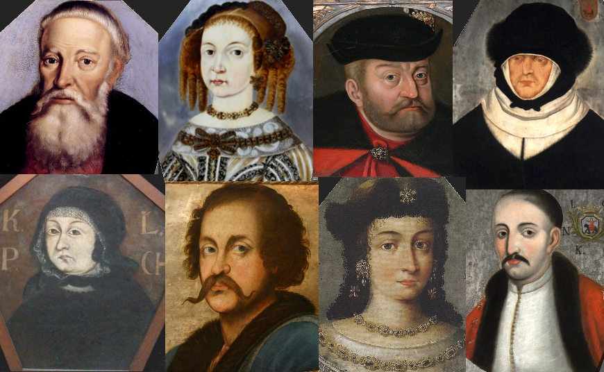 Coffin portraits of Polish nobility