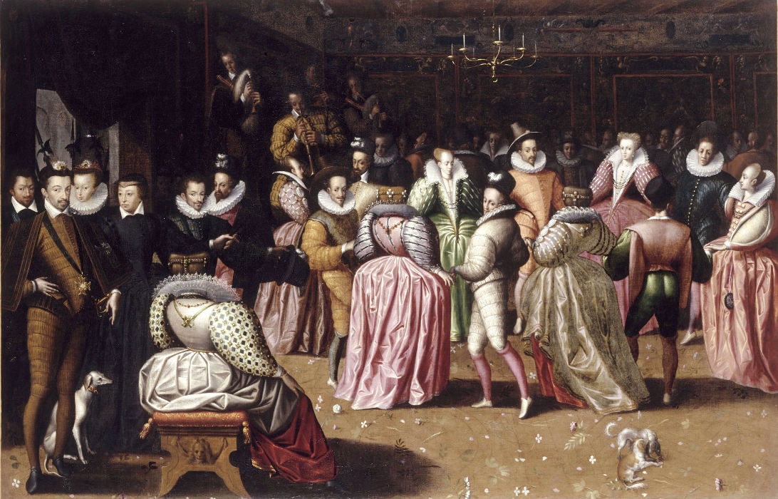 Henry IV and the court