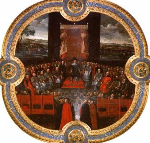 Władysław IV with Senate