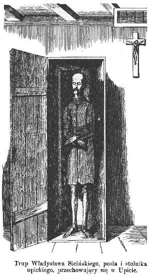 Mumified Władysław Siciński